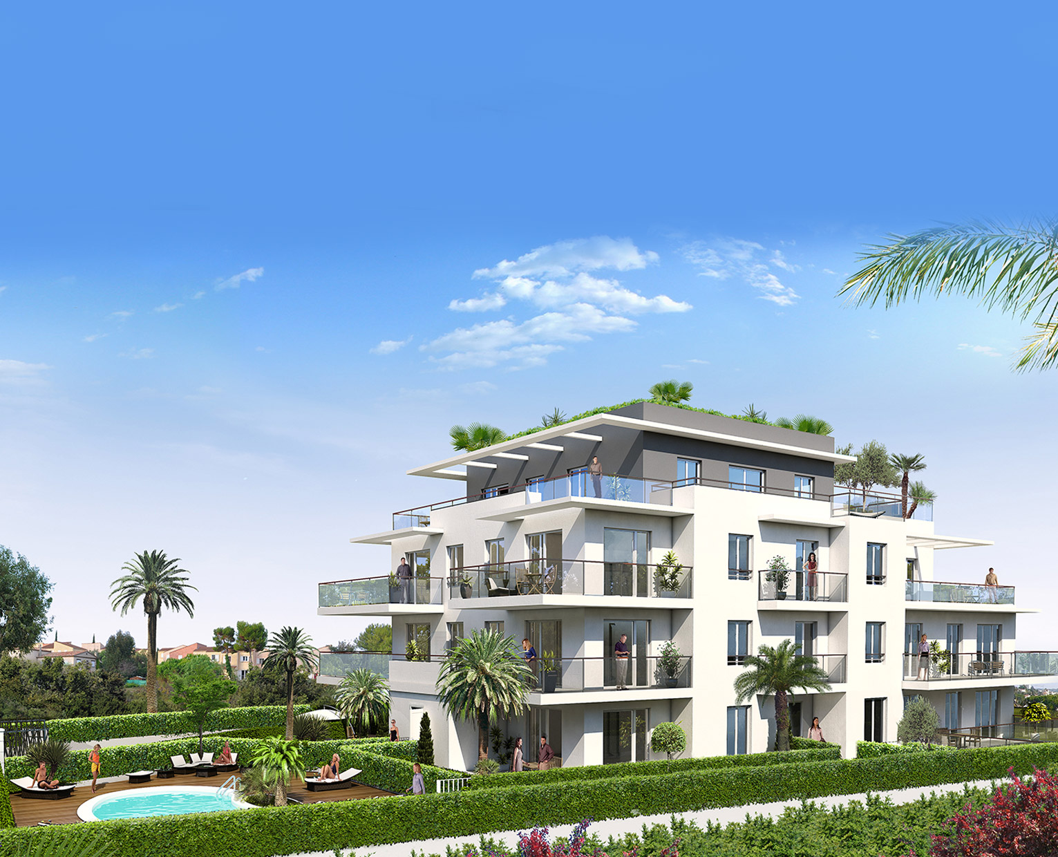 Appartements à Vendre Oressence Antibes