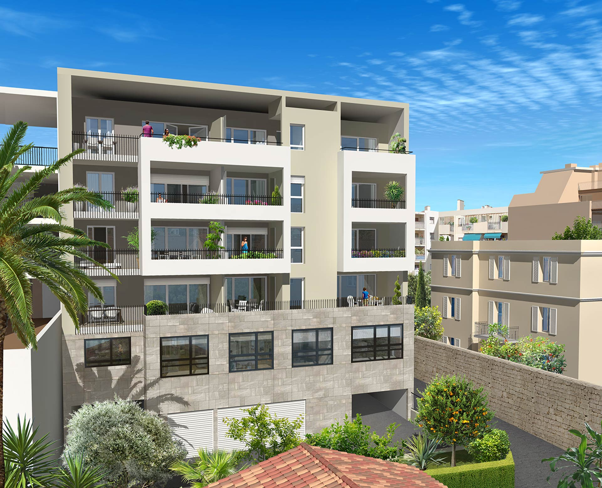 Programme Immobilier Saint Laurent du Var Central Square